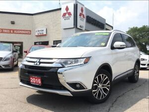 2016 Mitsubishi Outlander ES LEATHER !! (ONE OWNER! REVERSE CAME