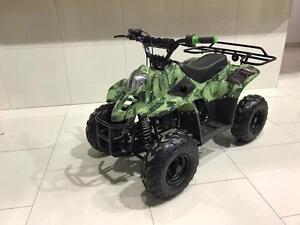 KIDS 110CC ATV 4 STROKE FULLY AUTOMATIC QUAD WITH REMOTE KILL SWITCH
