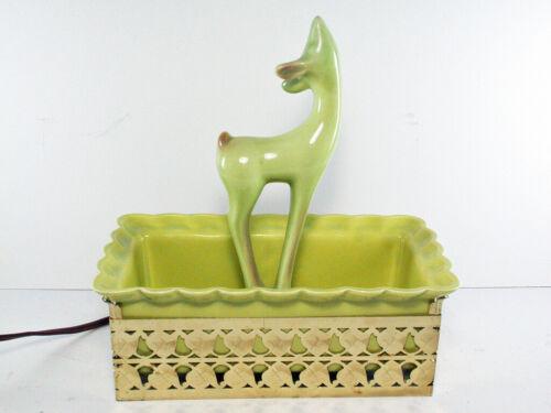 Wilhite of Calif. Deer TV Lamp/Planter