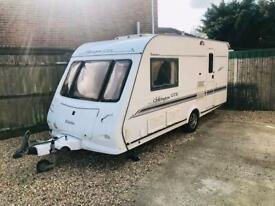 2005 Elddis Chiltington GTX - 2 berth caravan Comes with 2 awnings porch and full awning.