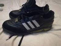Adidas predator vintage astro turf trainers uk10
