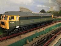 "HELJEN 4666 """"SOLD""""Limited Edition Free postage green diesel, DCC ready, New unused, Model Railway"