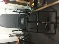 Stamina Inversion Table back support stretch spine realignment bench