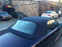 Bmw e36 convertible cabriolet fully auto hood roof. M3 328i 325i 318i blue