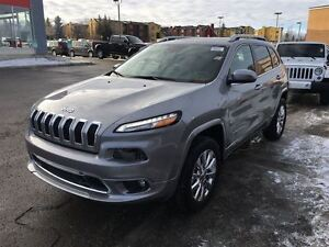 2016 Jeep Cherokee Overland-REAR VIEW CAMERA, LEATHER HEATED SEA