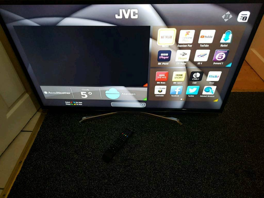 Jvc smart 43 LED tv Built-in DVD player too | in Wood Green, London |  Gumtree
