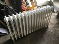 Vintage Cast Iron 4 Column Radiator