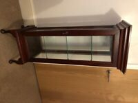 Furniture (Mahogany Display cabinet)