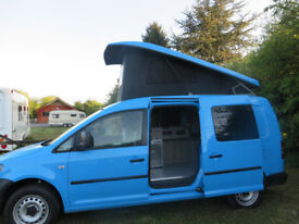 VW Caddy Maxi Campervan. Professional conversion 2018