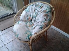 Wicker Sofa and Armchairs