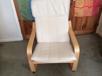 Two Ikea Birch Poang Chairs left!! includes