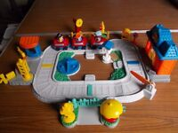 YOUNGSTERS FIRST TRAIN WITH SOUNDS AND HAND OPERATED