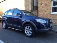 Chevrolet Captiva 2.0 diesel automatic 7 seater 4X4 , leather seat