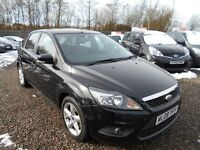 2008 Ford Focus 1.6 Zetec 5dr / FINANCE AVAILABLE / HPi CLEAR