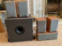 Mordant Short 5.1 surround speakers for sale