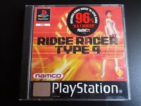 Ridge Racer Type 4 for the Sony PlayStation