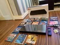 Lg up970 4k uhd blu ray player + 14x 3d blu ray films - like new