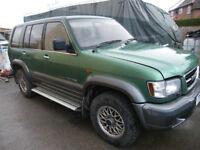 Isuzu Trooper 3.5 v6 petrol/lpg auto 7 seater