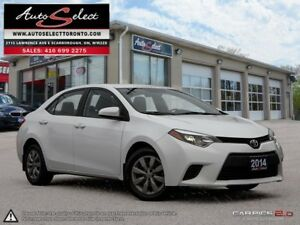 2014 Toyota Corolla ONLY 99K! **BACK-UP CAMERA** CLEAN CARPROOF
