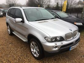 2003/53 BMW X5 4.4i SE SILVER LOW MILEAGE IMMACULATE EXAMPLE