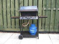 Gas barbeque (with empty gas cylinder)