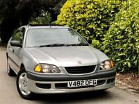 **ONLY DRIVEN 21K MILES** TOYOTA AVENSIS 1.8 GS 5DR + 1 HUSB&WIFE OWNR + AC/3KEY + IMMACULATE CAR!