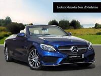 Mercedes-Benz C Class C 220 D AMG LINE (blue) 2017-03-27