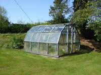 Hartley 10 Aluminium Greenhouse