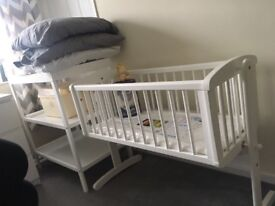 Baby crib & mattress