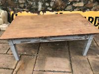 LOVELY OLD PINE FARMHOUSE TABLE