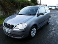Volkswagen Polo 2006, low mileage+PSH, low insurance