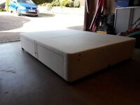 King Size Divan Bed Base (made by Myers) with 4 large drawers.