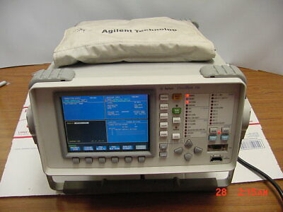 Hp - Agilent 37719a Omniber 719 Communications Analyzer Opt 013 601