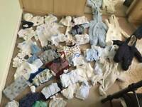 Boys baby clothes bundle 0-3 months old