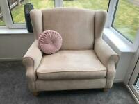 Next sofas and footstool