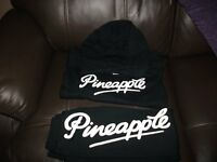 Girl Aged 7 to 8 years Pineapple Hoodie and bottoms