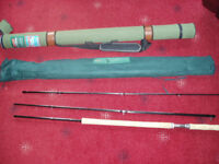 Shakespeare Odyssey Salmon Fly Rod AFTM 3.9 meters line weight 9# to 10#