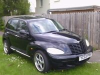 Black PT Cruiser - low miles, well maintained