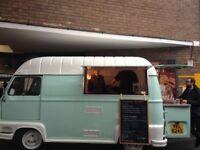 Beautifully fully restored vintage catering van!