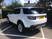 Land Rover Discovery Sport TD4 HSE (white) 2016-03-29