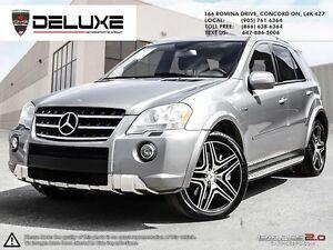 2010 Mercedes-Benz M-Class Base ML63 ////AMG NAVIGATION AWD $...
