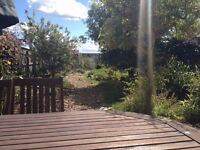 Lovely 3 bedroom house, coastal location, large garden