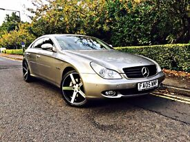 MERCEDES CLS 500, CLS 55 REP, AUTO Full Red Leather Seats, Quad Exhaust,