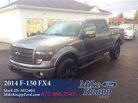 2014 Ford F-150 *One Owner Crew FX4  *5.0L *Leather *Remote
