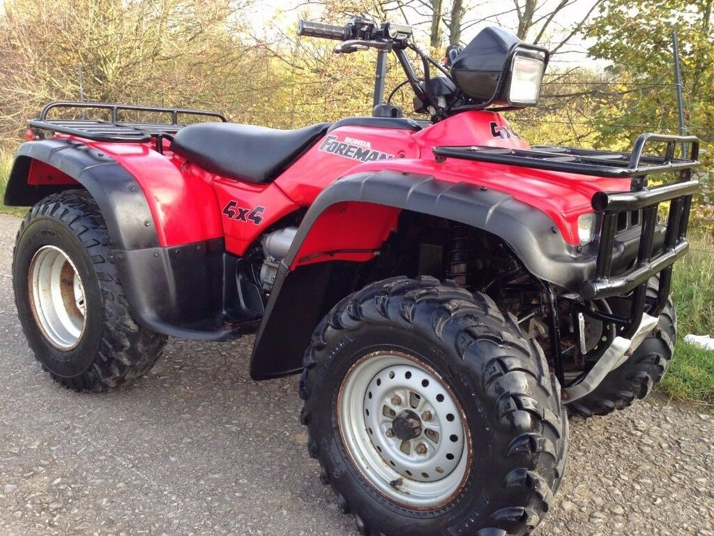 honda trx 450 4x4 foreman farm quad atv polaris grizzly 420 500 350 250 300 in auckley south. Black Bedroom Furniture Sets. Home Design Ideas