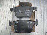 GOLF MK7 AUDI A3 REAR BRAKE PADS GENUINE ATE BRAND NEW VOLKSWAGEN BREAK 8VO 698 451 B