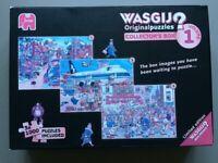 Wasgij Jigsaw Puzzles- 3 x 1,000 pieces