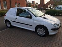 PEUGEOT 206 VAN 1.4 DIESEL DRIVES GREAT