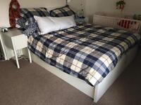 IKEA MALM ottoman bed and mattress