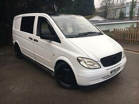 6 seater Mercedes Vito 155BHP - No VAT!